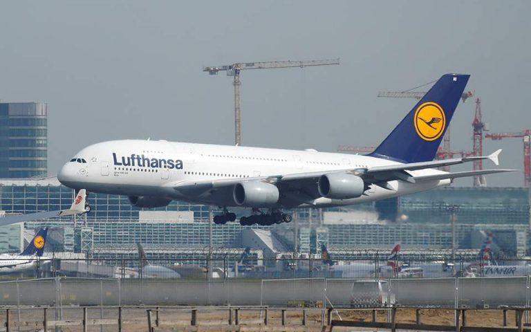 Συμφωνία Βερολίνου – Lufthansa για πακέτο διάσωσης «δισεκατομμυρίων»