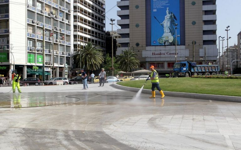 Αποκαλυπτήρια για τη «νέα» πλατεία Ομονοίας (φωτογραφίες)