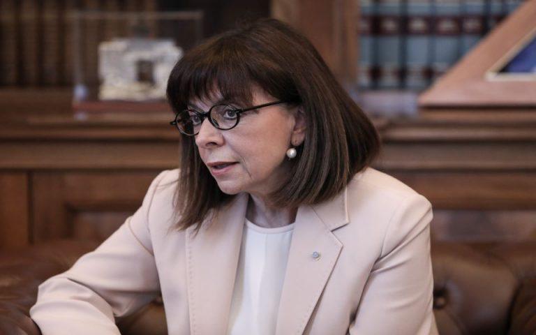 Σακελλαροπούλου για ανάληψη Προεδρίας Συμβουλίου της Ευρώπης: Πρόκειται για την πρώτη «Ψηφιακή Προεδρία»
