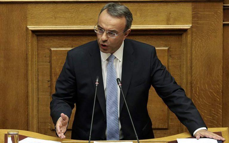 Βουλή: Σκληρό «μπρα ντε φερ» υπουργού Οικονομικών – ΣΥΡΙΖΑ