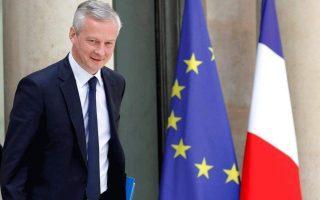 Ο υπουργός Οικονομικών της Γαλλίας Μπρινό Λε Μερ.