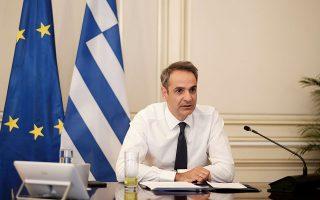 «Για να ξεκινήσει να οικοδομείται η εμπιστοσύνη, είναι σημαντικό η Τουρκία να σταματήσει τις προκλητικές ενέργειες, οι οποίες ξεκάθαρα παραβιάζουν τα κυριαρχικά δικαιώματα της Ελλάδας, καθώς επίσης και τα κυριαρχικά δικαιώματα της Κύπρου», υπογράμμισε χθες ο πρωθυπουργός (φωτ. INTIME NEWS).