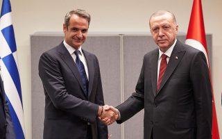 Ο πρωθυπουργός Κυρ. Μητσοτάκης είχε συνομιλήσει τελευταία φορά με τον Τούρκο πρόεδρο Ταγίπ Ερντογάν στις 24 Ιανουαρίου, όταν είχε πλήξει ισχυρός σεισμός την Τουρκία (φωτ. INTIME NEWS).