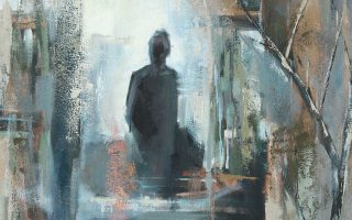 «Αντανακλάσεις: Στα άκρα» (2006), λεπτομέρεια από το έργο της Μισέλ Αρνολντ Πέιν (Reflections: On the Edge, Michelle Arnold Paine).