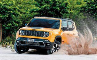 Το νέο εμπορικό πρόγραμμα της Jeep καλύπτει όλα τα μοντέλα: το Renegade (φωτ.), το Compass, το πολυτελές Cherokee και βέβαια το θρυλικό Wrangler.