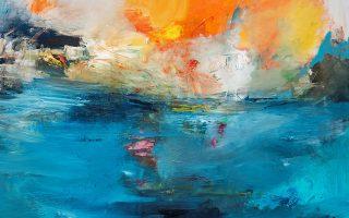 Μία από τις νέες δημιουργίες της Ελενας Κυρκιλή. Παρουσιάζει έργα αφηρημένα, πολλά εκ των οποίων με μεικτά υλικά.