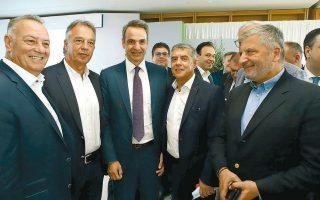 """«Το εμβληματικό πρόγραμμα """"Αντώνης Τρίτσης"""" είναι και πυλώνας του εθνικού στρατηγικού σχεδίου για την Ελλάδα του 21ου αιώνα», τόνισε στην ομιλία του στο Ιδρυμα Σταύρος Νιάρχος ο πρωθυπουργός Κυριάκος Μητσοτάκης (φωτ. ΑΠΕ-ΜΠΕ)."""