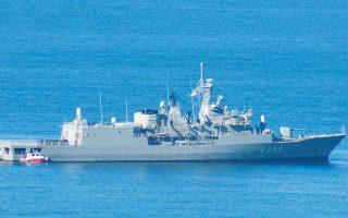 Η φρεγάτα του Π.Ν. «Σπέτσαι» εντόπισε το φορτηγό πλοίο «Τσίρκιν», με σημαία Τανζανίας, νοτίως της Κρήτης.