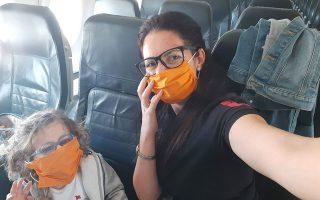 Στις 23 Μαρτίου, με ειδική πτήση που οργάνωσε το υπουργείο Υγείας της Κύπρου, η κ. Μπιρινσί και η Ολίβια έφτασαν στην Αθήνα.
