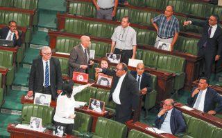 Αντιπαράθεση μεταξύ βουλευτών προκάλεσε στην Τυνησία το αίτημα για επίσημο «συγγνώμη» από τη Γαλλία (φωτ. EPA).