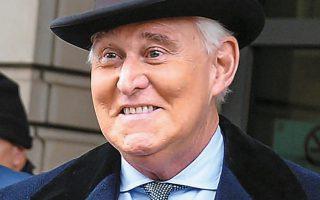 O Ρότζερ Στόουν καταδικάστηκε σε τριετή φυλάκιση για ψευδή κατάθεση, παρακώλυση δικαιοσύνης και άλλες κατηγορίες. κατά τον εισαγγελέα Ζελίνσκι, η ποινή ήταν πολύ ήπια και προέκυψε ως αποτέλεσμα άνωθεν πιέσεων.