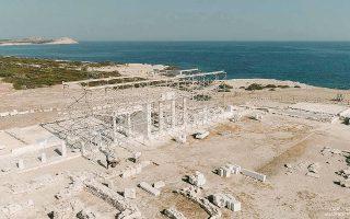 Στις 5/6 ξεκινούν οι αναστηλωτικές εργασίες στο Ιερό του Απόλλωνα στο Δεσποτικό, δυτικώς της Αντιπάρου.