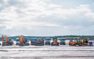 Ενα από τα βασικά έργα που θα χρηματοδοτηθούν από το νέο ομόλογο θα είναι το καινούργιο αεροδρόμιο στο Καστέλλι του Ηρακλείου Κρήτης, συνολικού προϋπολογισμού 480 εκατ. ευρώ (φωτ. INTIME).