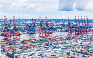Τον Απρίλιο, οι εισαγωγές της Γερμανίας μειώθηκαν κατά 16,5% και το εμπορικό πλεόνασμα περιορίστηκε στα 3,2 δισ. ευρώ, ενώ υπολογιζόταν στα 10 δισ.