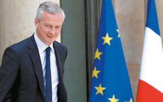 Ο Γάλλος υπουργός Οικονομικών Μπρινό Λε Μερ διατύπωσε την εκτίμηση πως «από οικονομικής και κοινωνικής απόψεως, οι χειρότερες ημέρες είναι μπροστά μας».