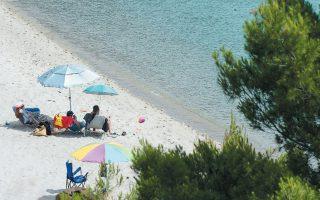 Κορυφαίος προορισμός του οδικού τουρισμού από βαλκανικές χώρες, με 400.000 διανυκτερεύσεις το καλοκαίρι, είναι η Χαλκιδική. (ΦΩΤ. INTIME NEWS)