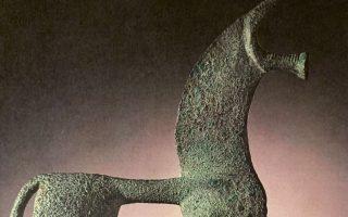 Χάλκινο ειδώλιο αλόγου του 8ου αι. π.Χ.
