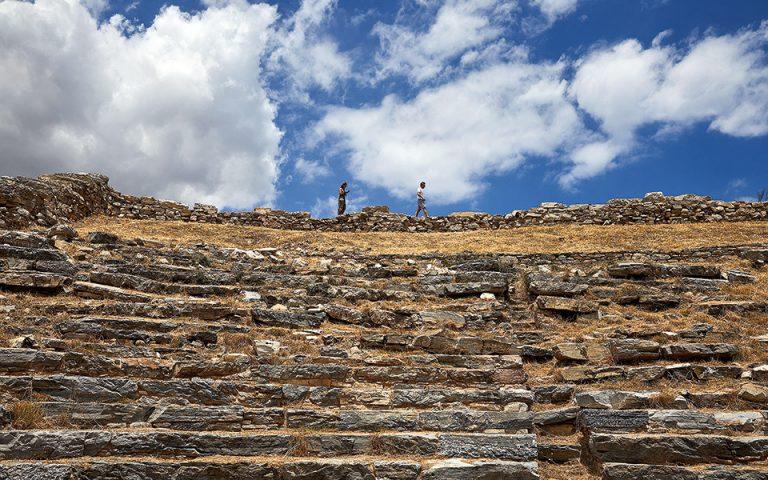 Το αρχαίο θέατρο Θορικού. (Φωτογραφία: Δημήτρης Βλάικος)