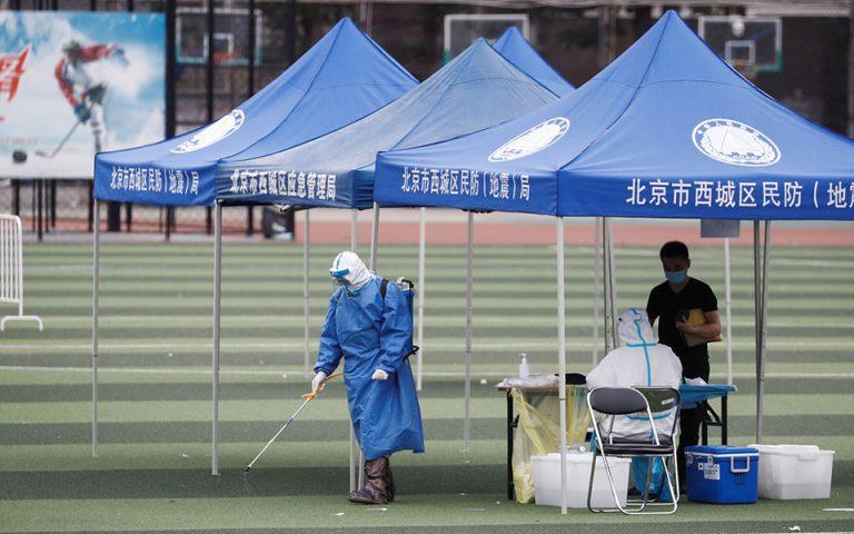 Κινέζος αξιωματούχος: Η κατάσταση με τον κορωνοϊό στο Πεκίνο είναι εξαιρετικά σοβαρή