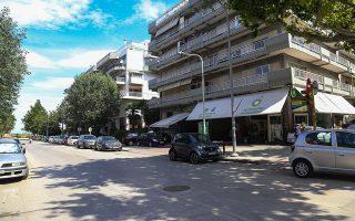 Το πρατήριο υγρών καυσίμων στην Καλαμαριά όπου βρέθηκε η ανήλικη Μαρκέλλα/Φωτ. INTIME NEWS