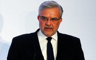 Μιλώντας στην ετήσια γενική συνέλευση των μετόχων της Τράπεζας Πειραιώς, ο διευθύνων σύμβουλος του ομίλου, Χρήστος Μεγάλου, επισήμανε ότι το βασικό σενάριο της τράπεζας είναι ότι η ελληνική οικονομία θα φέρει το πλήρες βάρος της πανδημίας ώς το τρίτο τρίμηνο του 2020. (Φωτ. ΑΠΕ)