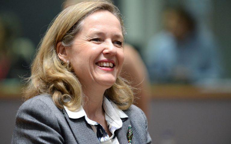 Η Ισπανία θα προτείνει την ΥΠΟΙΚ της ως επικεφαλής του Eurogroup