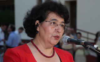 Η Αικατερίνη Πολυμέρου-Καμηλάκη, από τις κορυφαίες λαογράφους μας.