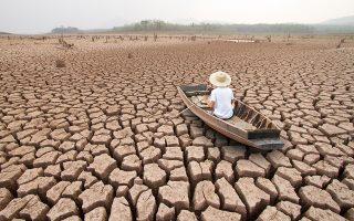 «Το μεγαλύτερο κόστος της υπερθέρμανσης του πλανήτη θα αναγκαστούν να επωμιστούν χώρες που ευθύνονται λιγότερο για το πρόβλημα και που δεν έχουν πόρους να το αντιμετωπίσουν». SHUTTERSTOCK