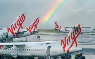 Η Virgin Australia αποτελούσε μέρος της αυτοκρατορίας του Ρίτσαρντ Μπράνσον. Σε αυτήν ανήκει η εταιρεία διαστημικών ταξιδιών Virgin Galactic, καθώς και η επίσης αεροπορική Virgin Atlantic, για την οποία ο Μπράνσον είχε βάλει υποθήκη μέχρι και το ιδιωτικό νησί του.