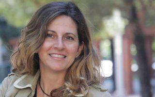 Η συγγραφέας και δημοσιογράφος Ελένη Δασκαλάκη.