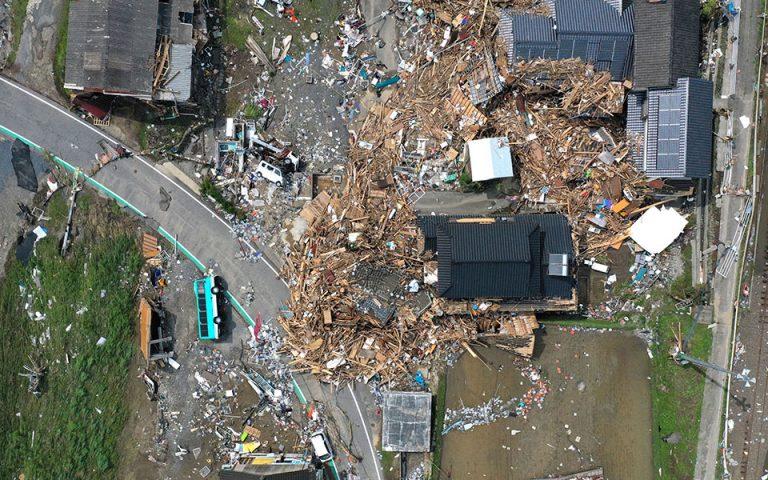 Ιαπωνία: Τουλάχιστον 58 νεκροί από πλημμύρες και κατολισθήσεις