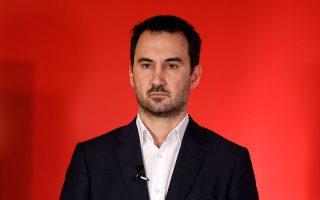 «Ο κ. Μητσοτάκης έφυγε από το Συμβούλιο Κορυφής με 7 δισ. λιγότερες επιχορηγήσεις από ό,τι προέβλεπε η αρχική πρόταση της Κομισιόν», δήλωσε ο Αλ. Χαρίτσης. (Φωτ. ΚΟΝΤΑΡΙΝΗΣ ΓΙΩΡΓΟΣ)