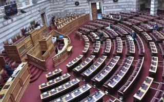 Η παραπομπή του τέως υπουργού ενεργοποιεί τις διαδικασίες του νόμου περί ευθύνης υπουργών, με τη Βουλή να καλείται τις επόμενες ημέρες να κληρώσει τα μέλη που θα συγκροτήσουν το Δικαστικό Συμβούλιο (φωτ. INTIME NEWS).