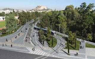 Από τον πεζόδρομο της Βασιλίσσης Ολγας θα διέρχεται το τραμ και ποδηλατόδρομος, ενώ σε όλη την έκτασή του προβλέπεται η ανεμπόδιστη μετακίνηση των ατόμων με αναπηρία.
