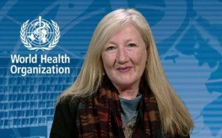 Η εκπρόσωπος του Παγκόσμιου Οργανισμού Υγείας, Μάργκαρετ Χάρις