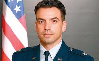 Ο ελληνικής καταγωγής δρ Τζέικ Σωτηριάδης, αντισμήναρχος της πολεμικής αεροπορίας των ΗΠΑ και επικεφαλής στρατηγικών προβλέψεων στο αρχηγείο της αμερικανικής πολεμικής αεροπορίας στο Πεντάγωνο.