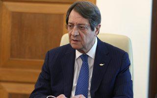 «Η θέση μου να μη διεκδικήσω τρίτη θητεία είναι οριστική και αμετάκλητη. Ο,τι έχεις να δώσεις μπορείς να το δώσεις στη διάρκεια δύο θητειών», λέει ο πρόεδρος της Κύπρου Νίκος Αναστασιάδης.