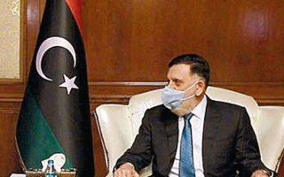 O πρωθυπουργός της Λιβύης, Φαγέζ αλ Σαράζ. (Φωτ. REUTERS)