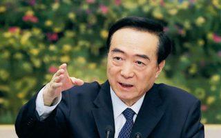 O γραμματέας της Αυτόνομης Περιοχής Ουιγούρων Ξινγιάνγκ, Τσεν Κουανγκουό, έγινε στόχος αμερικανικών κυρώσεων. (Φωτ. REUTERS)