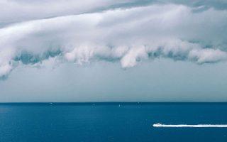 Το πλησίασμα της καταιγίδας. Φωτογραφία του Χάρη φαν Φέρσεντααλ.