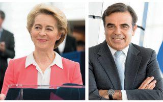 Η Ενωσή μας θα πρέπει πάντα να κρίνεται με βάση το τι μπορεί να προσφέρει για το μέλλον, υπογραμμίζουν η κ. Ούρσουλα φον ντερ Λάιεν και ο κ. Μ. Σχοινάς.