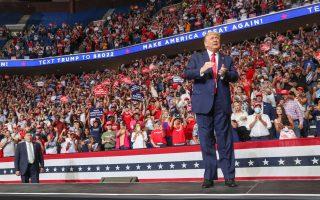 Φωτ. αρχείου REUTERS: Ο Τραμπ ελπίζει σήμερα να ξεπεράσει το φιάσκο της προεκλογικής του συγκέντρωσης στην Οκλαχόμα