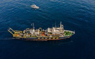 Το ωκεανογραφικό που χρησιμοποιεί σήμερα το Ελληνικό Κέντρο Θαλασσίων Ερευνών, το «Αιγαίο», κατασκευάστηκε στα ναυπηγεία Χαλκίδας το 1985.