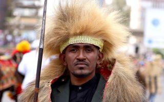 Ο δολοφονημένος, κατά τις αρχές της Αιθιοπίας, τραγουδιστής Χακαλού Χουντέσα. (Φωτ. Reuters)