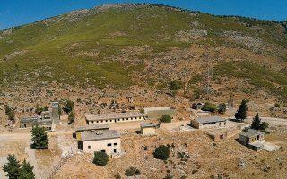 Tο ανενεργό «Στρατόπεδο Αμερικανικής Ευκολίας Ελευσίνας», όπου σχεδιάζεται η μεταφορά των φυλακών (Φωτ. INTIME NEWS)