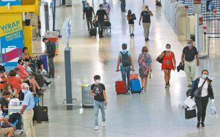 Το στοίχημα είναι η Ελλάδα να μείνει ασφαλής και να προσελκύσει τουρίστες. Η κυβέρνηση κινείται με ορίζοντα το τέλος Ιουλίου για να διαπιστώσει τα αποτελέσματα των περιορισμών και των μέτρων που έχουν τεθεί σε εφαρμογή (φωτ. INTIME NEWS).
