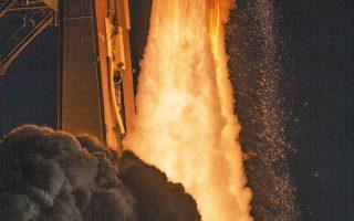 Η στιγμή της εκτόξευσης του πυραύλου που φέρει το όχημα «Perseverance Rover», από το ακρωτήρι Κανάβεραλ.