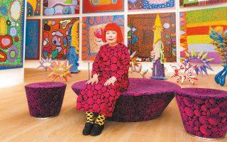 Η τεράστια δημοτικότητα που έχει αποκτήσει το έργο της Κουσάμα είναι προϊόν μιας δημιουργικής καριέρας 70 χρόνων.