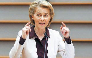 Το Ταμείο Ανάκαμψης «μπορεί να αποτελέσει ένα από τα μεγαλύτερα προγράμματα τόνωσης των επενδύσεων και των μεταρρυθμίσεων στον κόσμο», τόνισε η πρόεδρος της Ευρωπαϊκής Επιτροπής Ούρσουλα φον ντερ Λάιεν.
