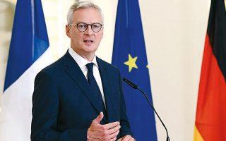 Κατά τον Γάλλο υπουργό Οικονομικών Μπρινό Λε Μερ, η ενίσχυση της απασχόλησης είναι απαραίτητη, καθώς φέτος εκτιμάται ότι θα χαθούν περί τις 800.000 θέσεις εργασίας.